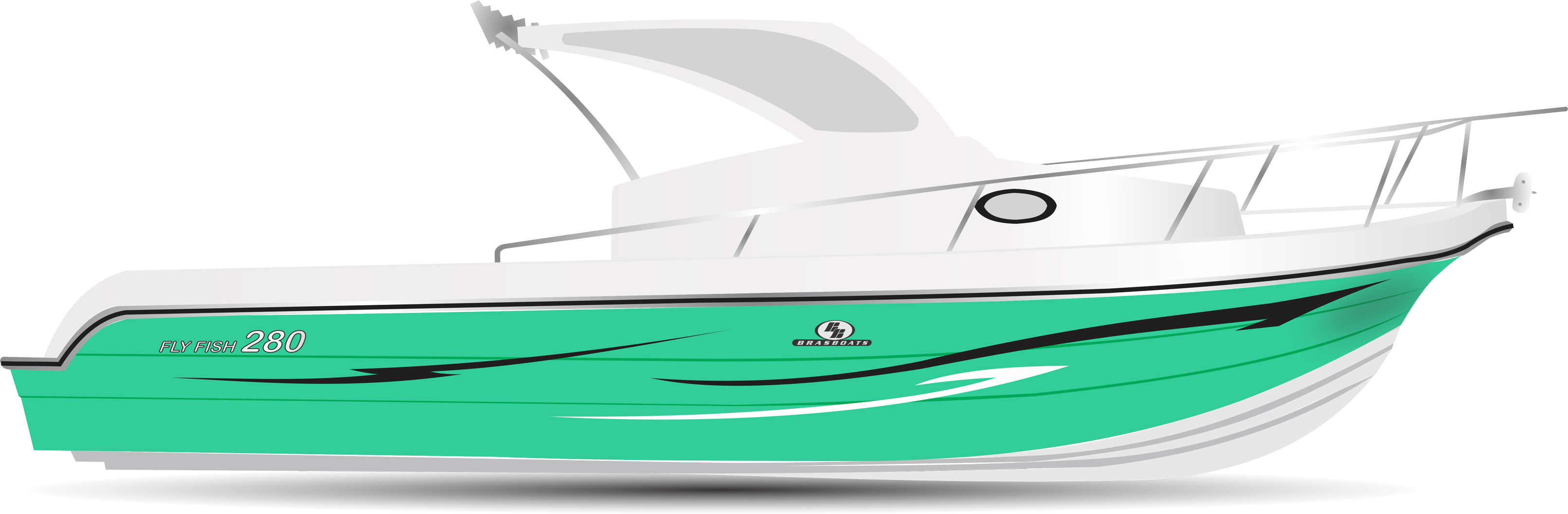 Fly Fish 280 Verde