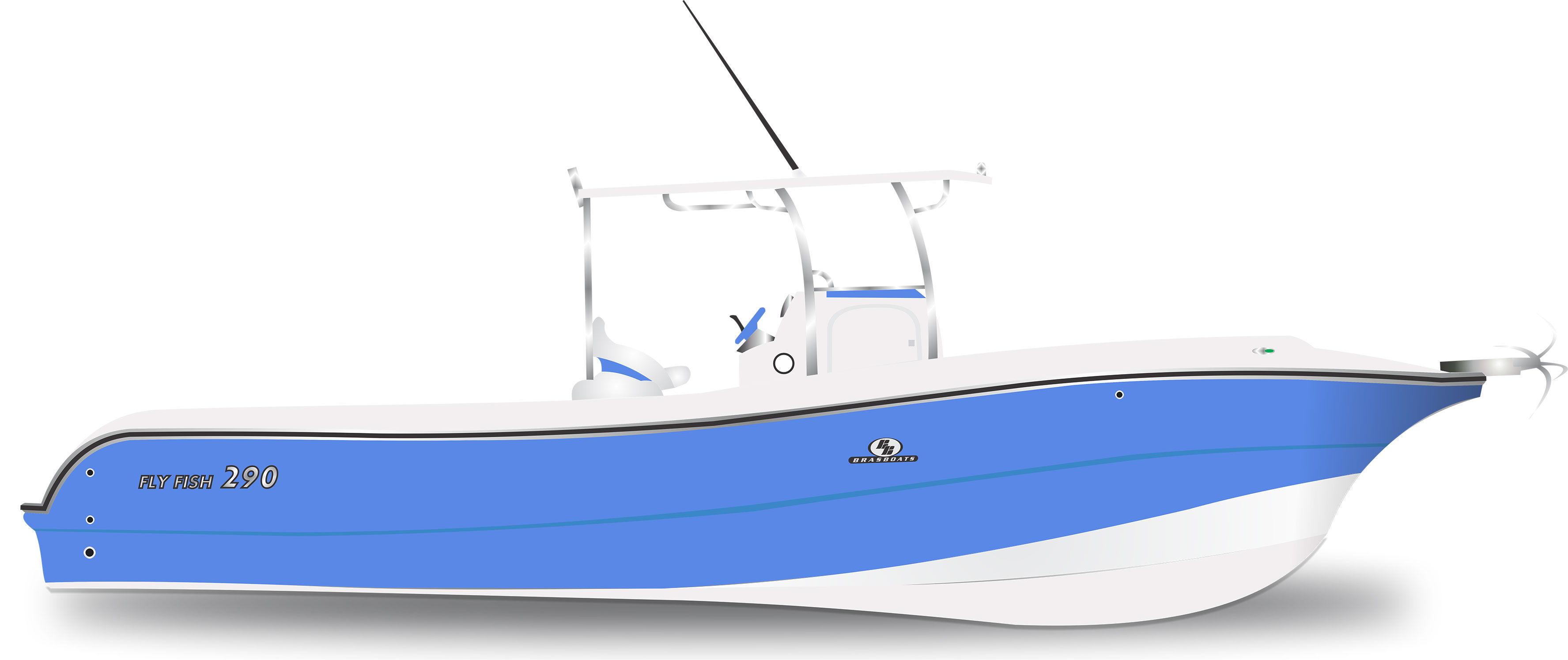 Fly Fish 290 Azul