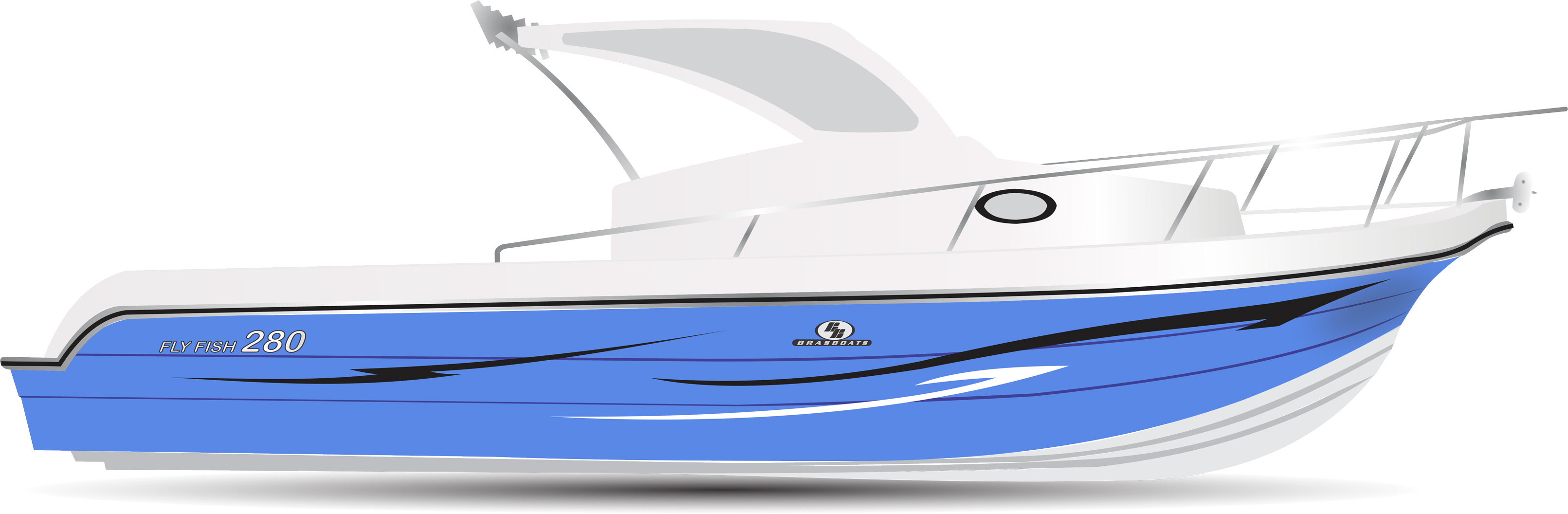 Fly Fish 280 Azul
