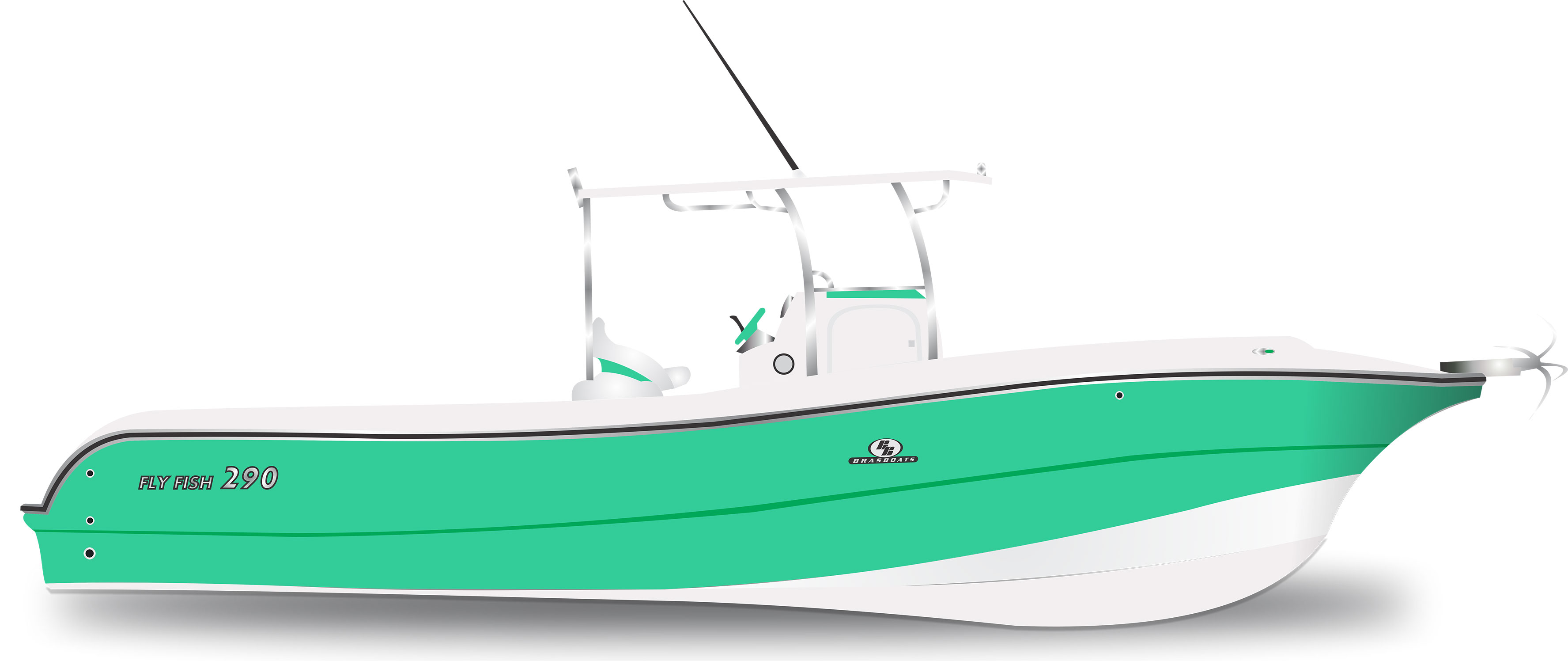 Fly Fish 290 Verde